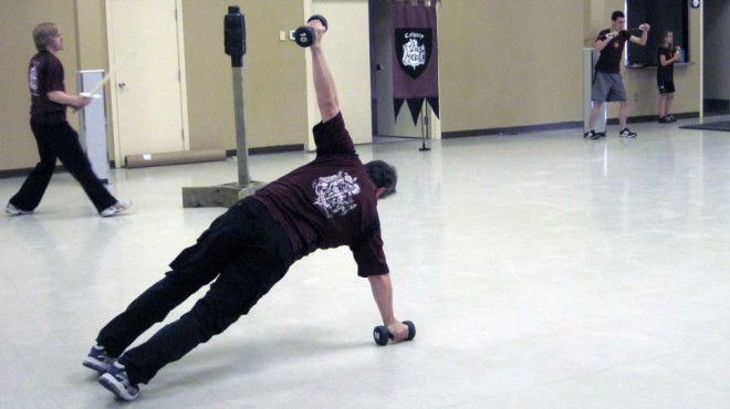 Circuit training to improve overall fitness
