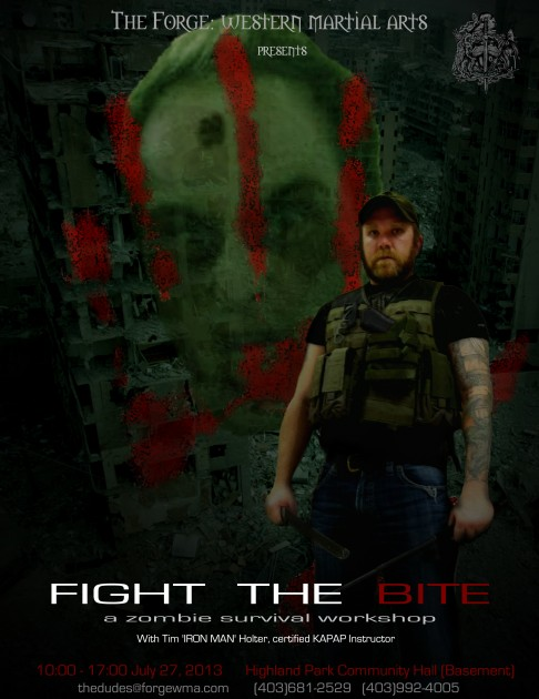 Fight the Bite Poster - July 2013